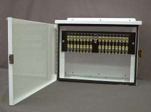 Groundbed Anode Junction Box c/w Output Monitoring Shunts
