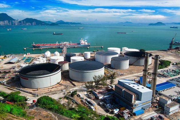 oil-tank-in-power-station