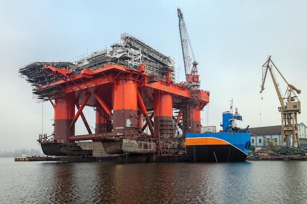 platform-on-a-barge