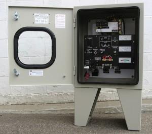 C.P. Sentinel Rectifier in Custom Designed Air-Cooled Enclosure