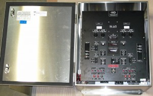 Dual Circuit C.P. Sentinel Rectifier in Stainless Steel Type 4X Air-Cooled Enclosure